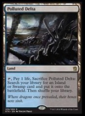 Polluted-Delta-Khans-of-Tarkir-Spoilers-190x261